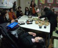 ひばりが丘の上映会後14.3.30