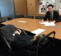 村岡敏英議員への陳情14.3.31