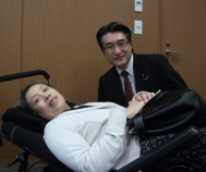 石田昌宏議員への陳情14.5.30