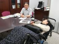 日本理学療法士協会会長との面談2人14.6.25①