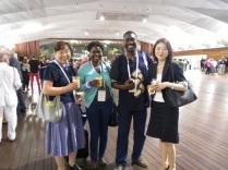 ISA国際社会学会議14.7.18参加者と①