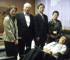 横倉日本医師会会長との面談15.9.16