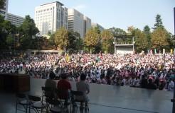 憲法いかし、いのちまもる10.22国民集会15.10.22観衆