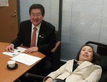 左藤章先生への陳情16.4.26